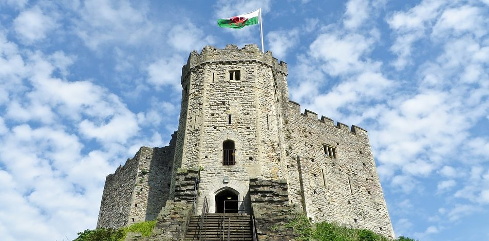 Cardiff Castle's Norman fort