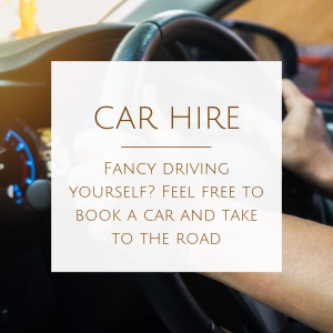 Book your car hire from our range of providers
