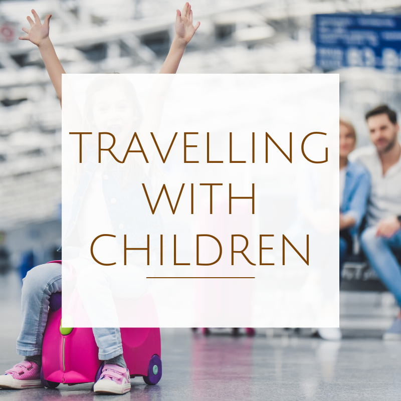 cardiff airport terminal - travelling with children