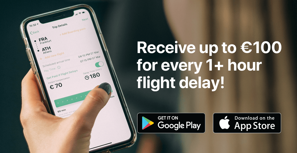 Receive up to €100 in compensation for your delayed or cancelled flight with Colibra